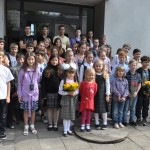 2012 rugsėjis. Mokiniai