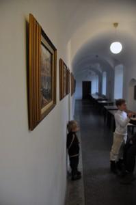 Vienuolyno koridoriai