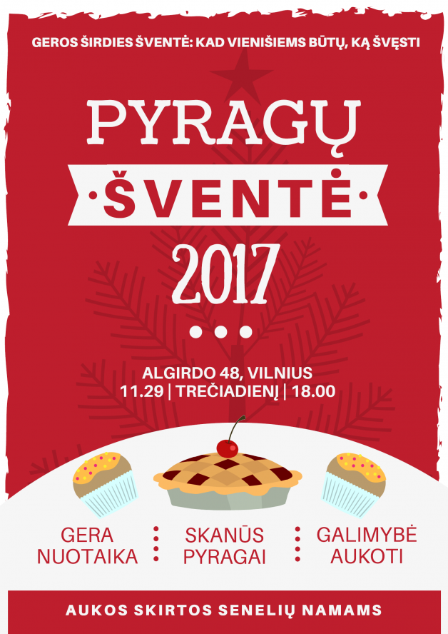 Pyragų šventė 2017.plakatas